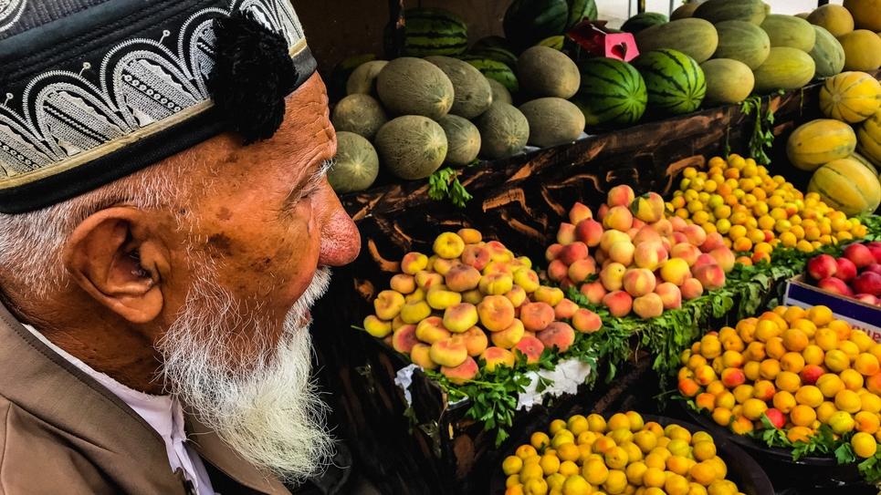 Un habitant de Kachgar