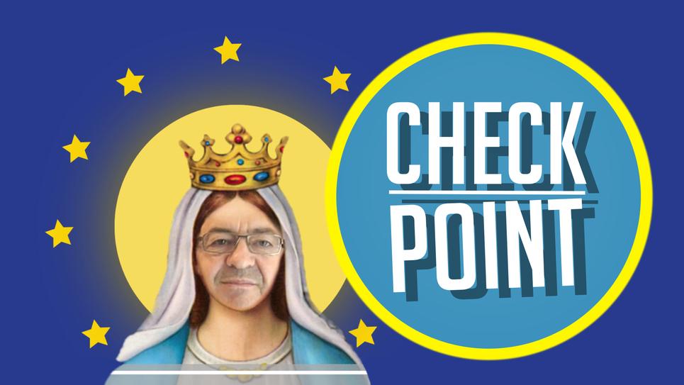 Check Point: le drapeau européen