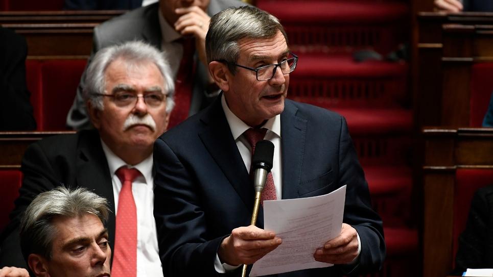 Charles de Courson s'adresse à l'Assemblée nationale le 18 décembre 2018
