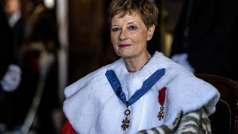 Chantal Arens lors de son installation comme présidente de la Cour de cassation le 6 septembre 2019