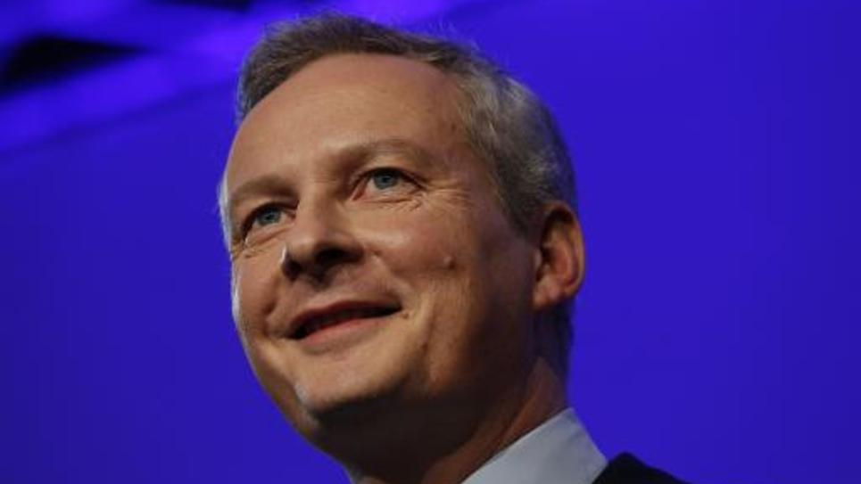Bruno Le Maire, député UMP, le 29 novembre 2014 à Paris