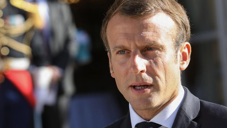 Le président Emmanuel Macron, le 20 septembre 2019 à Paris