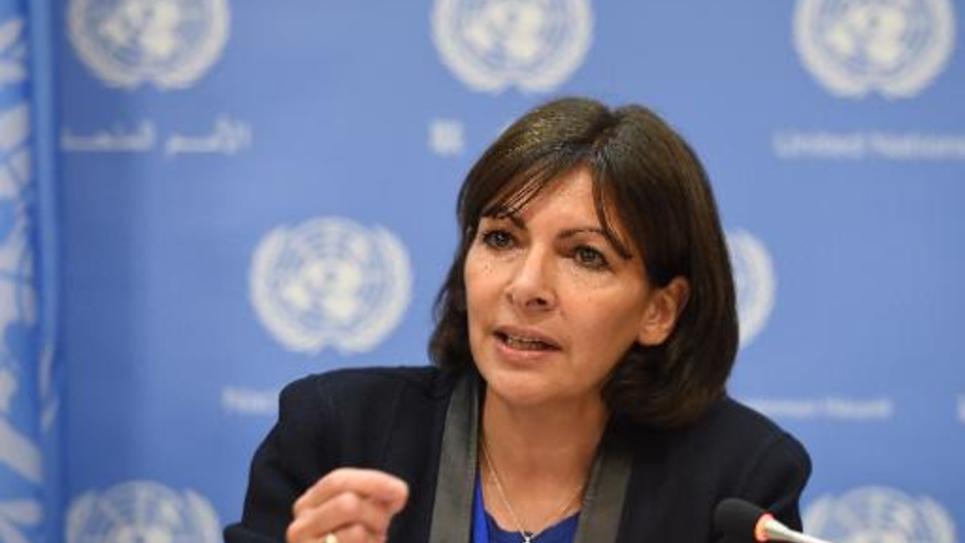 La maire de Paris Anne Hidalgo à New York le 29 mai 2014