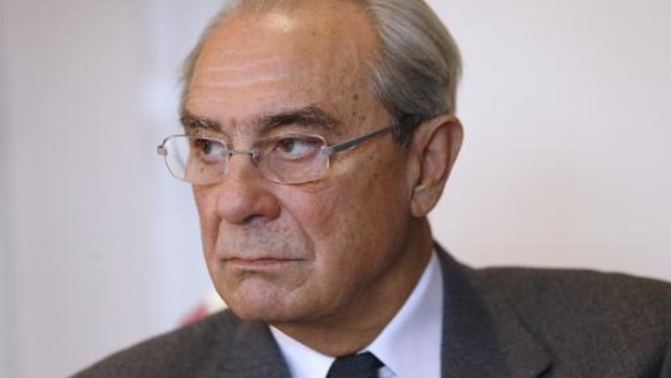 Bernard Debré le 17 décembre 2013 à Paris