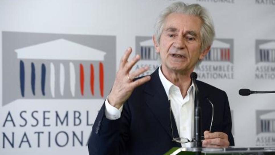 Le député PS Jean-Paul Chanteguet, le 14 mai 2014 lors d'une conférence de presse à l'Assemblée nationale