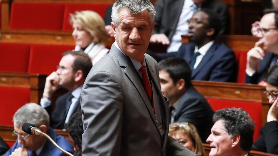 Jean Lassalle, à l'Assemblée le 5 mars 2019