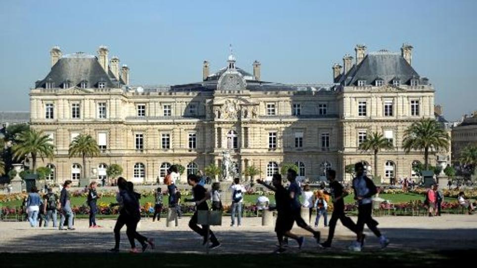 Le Palais du Luxembourg, siège du Sénat, à Paris, dans une photo prise le 27 septembre 2014