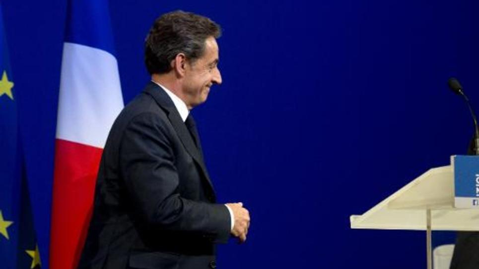 Nicolas Sarkozy à Paris, le 7 février 2015