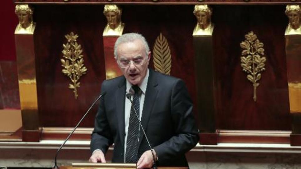 François Asensi à l'Assemblée nationale le 16 janvier 2013