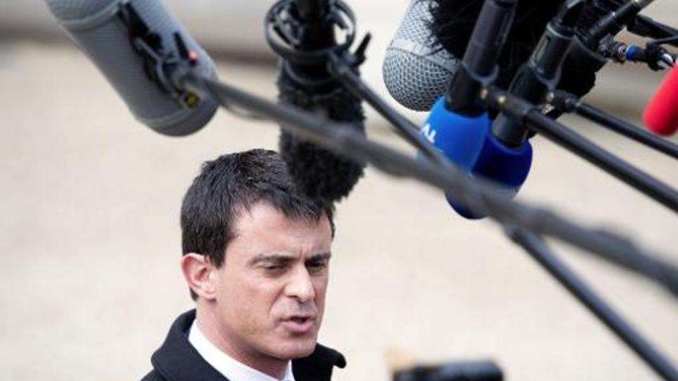 Le Premier ministre Manuel Valls, le 11 mars 2015 à Paris