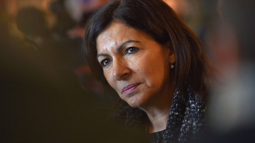La maire de Paris Anne Hidalgo, le 19 décembre 2017 à La Roche-sur-Yon