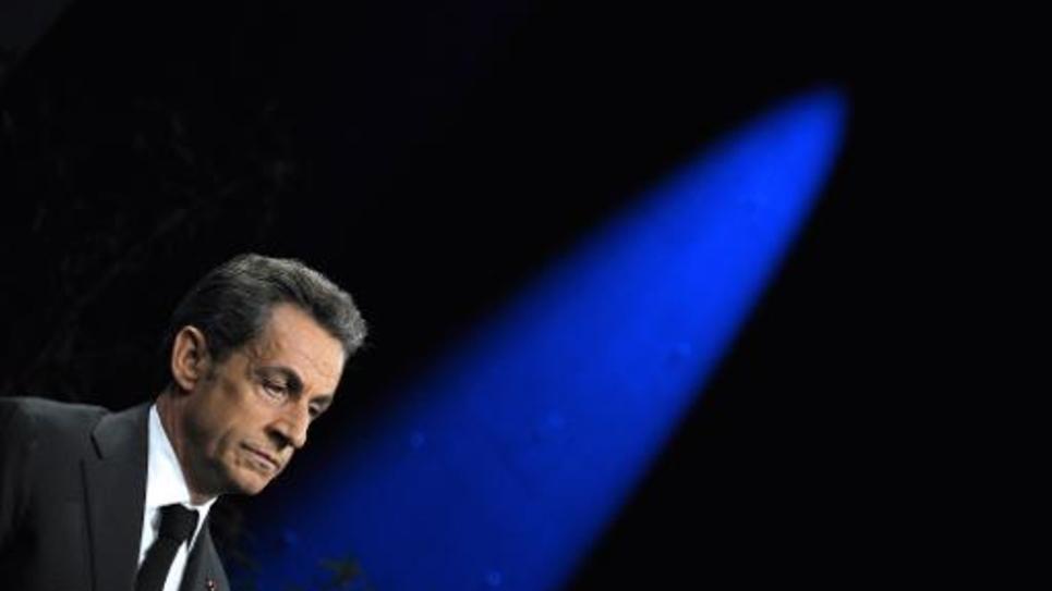 L'ex-président français Nicolas Sarkozy, le 15 novembre 2014 à Paris