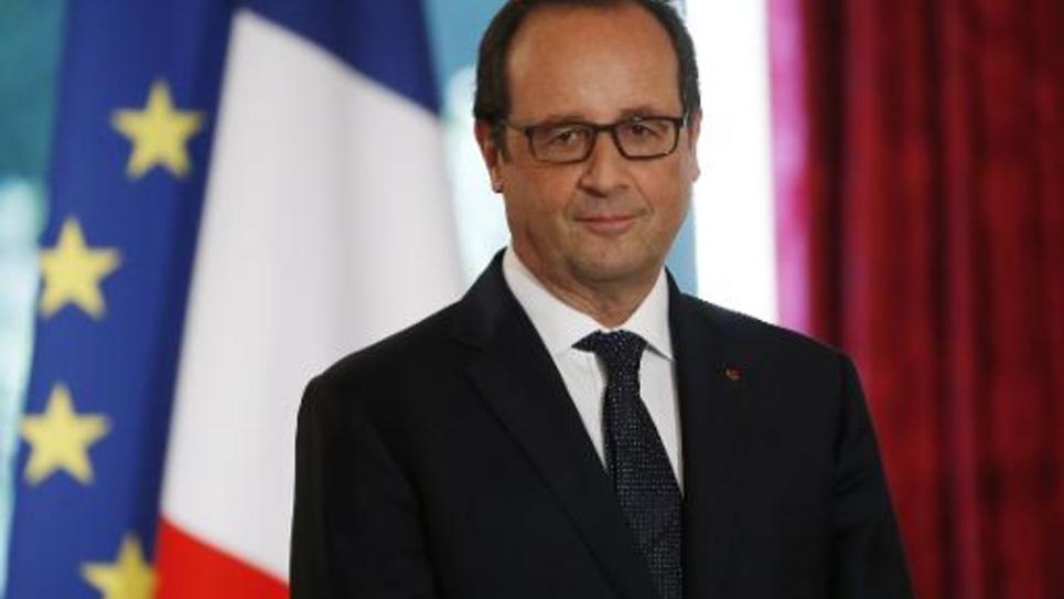 Le président François Hollande, le 30 septembre 2014 à l'Elysée