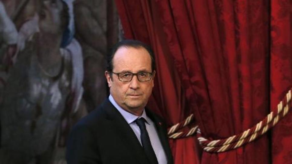 Le président de la République François Hollande, le 4 décembre 2014 à l'Elysée, à Paris