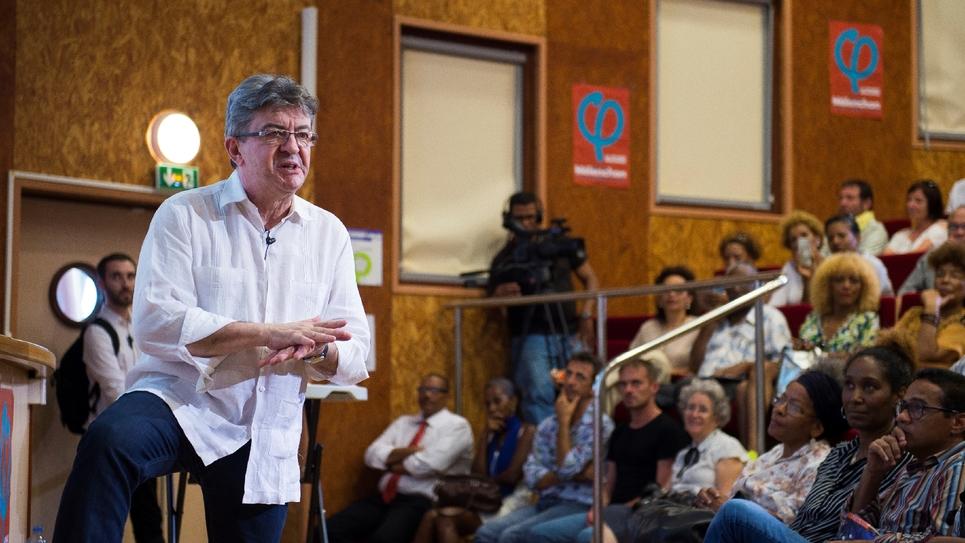 Jean-Luc Mélenchon en meeting le 17 décembre 2016 au Lamentin en Martinique