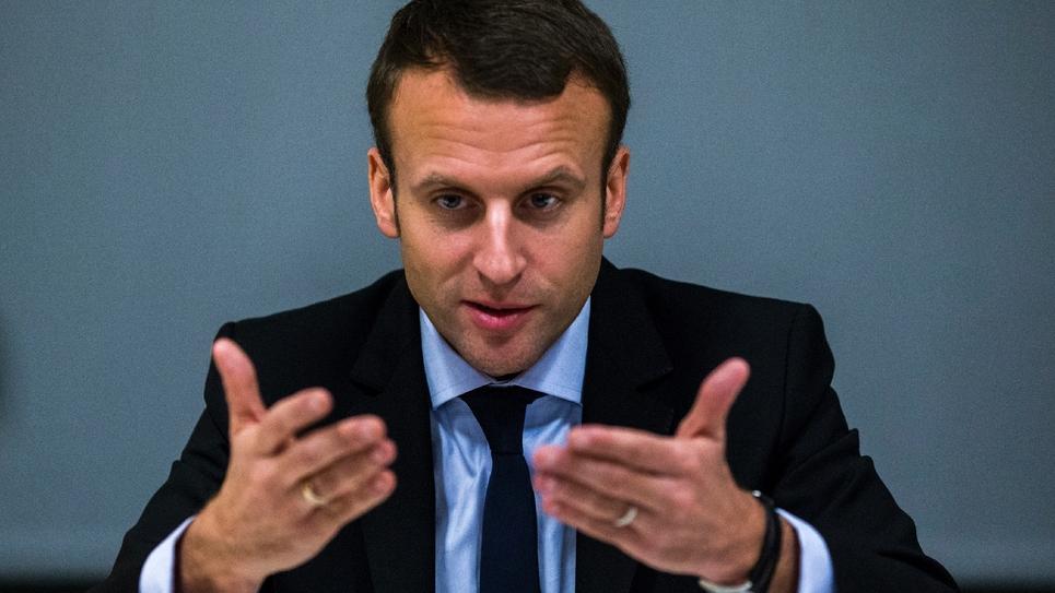 Emmanuel Macron le 5 décembre 2016 à New York
