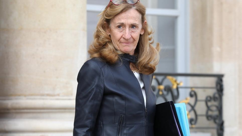 Nicole Belloubet à Paris, le 27 mars 2019