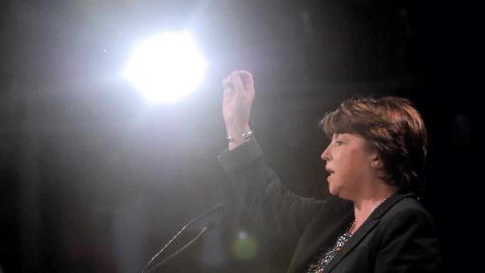 Martine Aubry le 15 mai 2014 à Lille