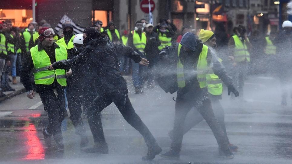 """Manifestation de """"gilets jaunes"""", le 26 janvier 2019 à Quimper"""