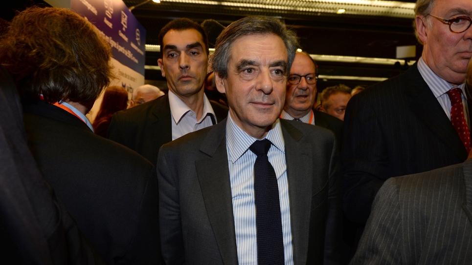 François Fillon, le 1er février 2017 à Paris