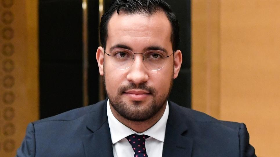 Alexandre Benalla au Sénat à Paris le 19 septembre 2018