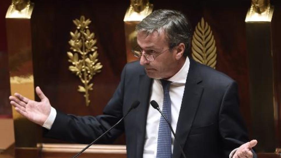 Philippe Vigier, chef de file du groupe UDI, à l'Assemblée nationale le 16 septembre 2014