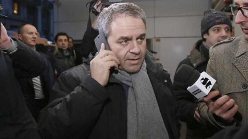 Le député UMP de l'Aisne, Xavier Bertrand, le 3 février 2015 à Paris