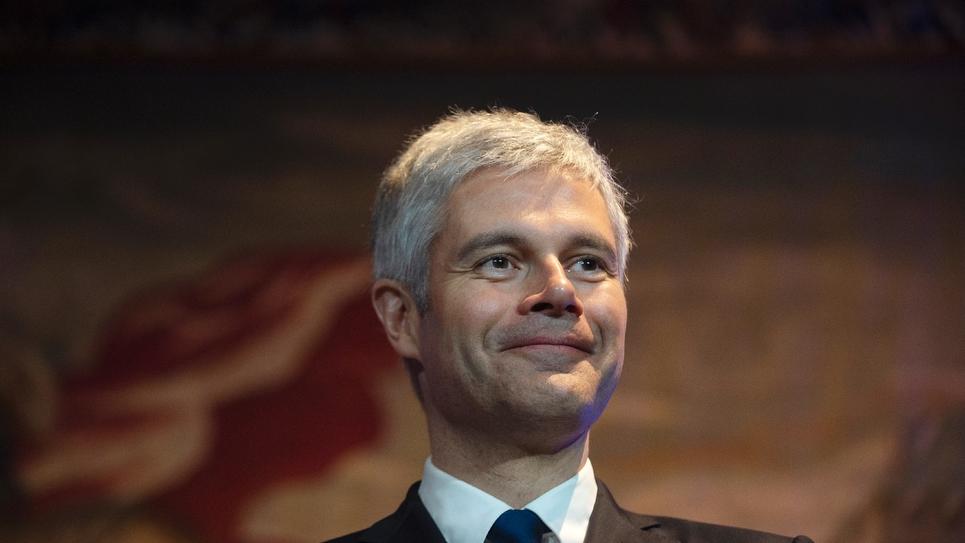 Laurent Wauquiez, le 14 janvier 2019 à Lyon