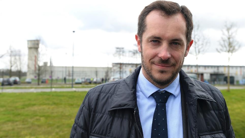 Nicolas Bay, le 7 mars 2019 à Alençon