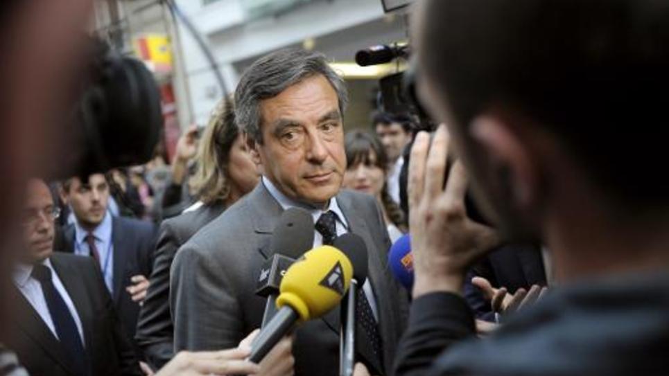 François Fillon, le 10 juin 2014 à Paris