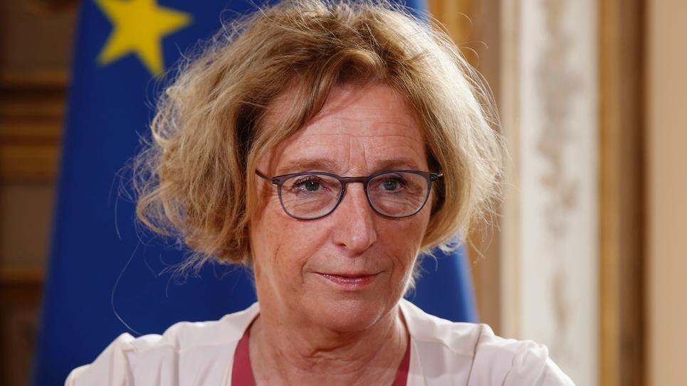 La ministre du Travail Muriel Pénicaud à l'Elysée, le 5 septembre 2018