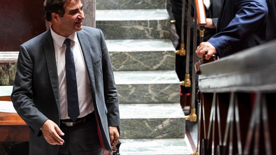 Christian Jacob, patron des députés  LR à l'Assemblée et candidat à la présidence du parti dont l'élection se tiendra en octobre. Photo prise le 2 juillet 2019