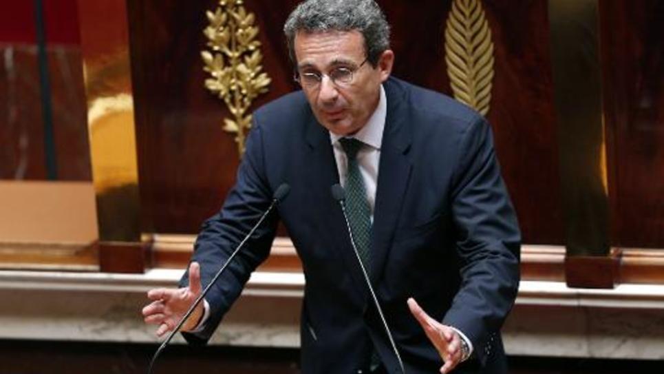 Le maire UDI de Neuilly-sur-Seine, Jean-Christophe Fromantin, le 17 juillet 2014 à l'Assemblée nationale, à Paris