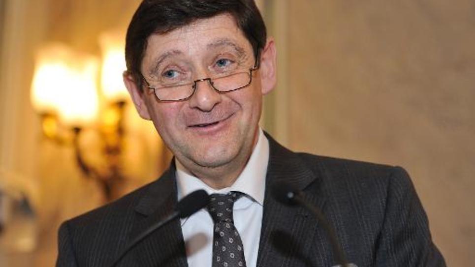 Patrick Kanner, nommé le 26 août 2014 ministre de la Ville, de la Jeunesse et des Sports, le 31 mars 2011 à Lille