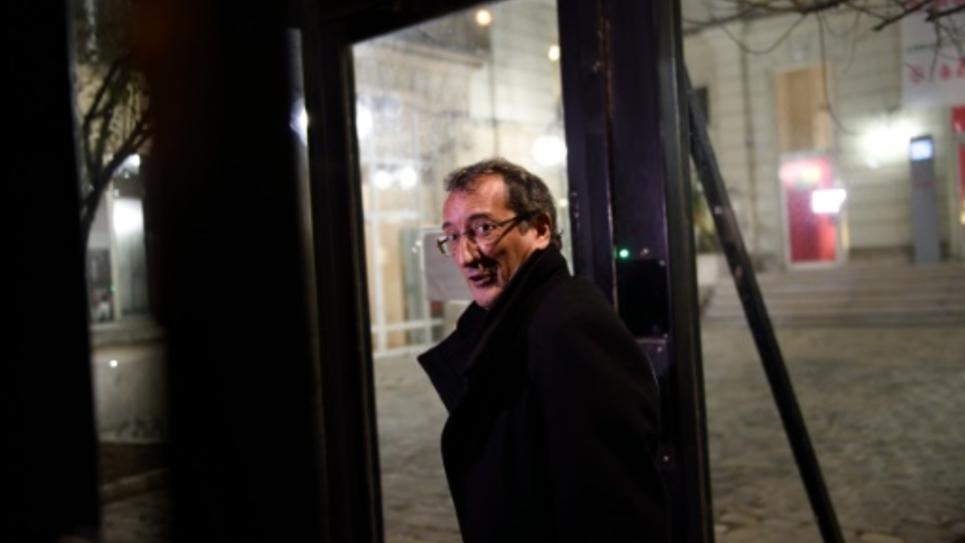 Le député PS Francois Lamy à Paris le 14 décembre 2015
