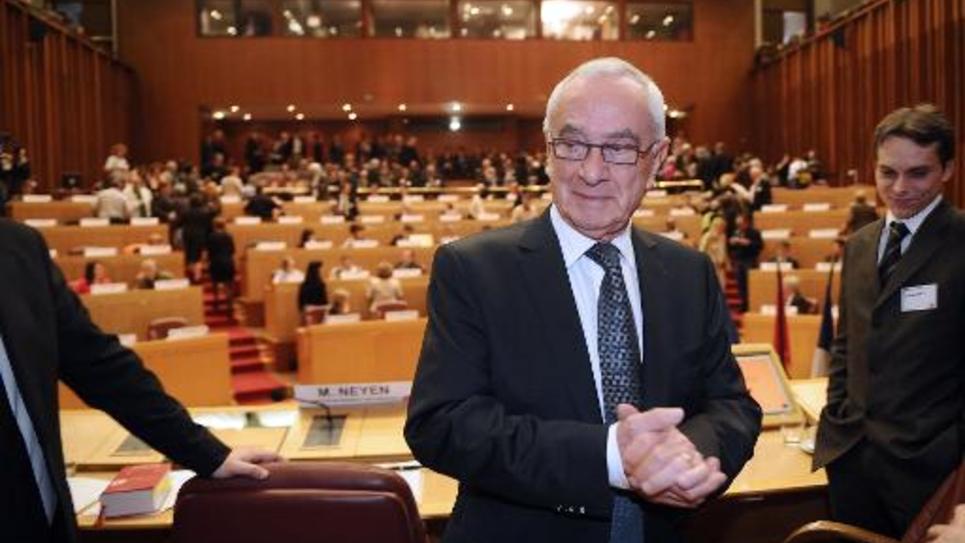 Martin Malvy le 26 mars 2010 à Toulouse