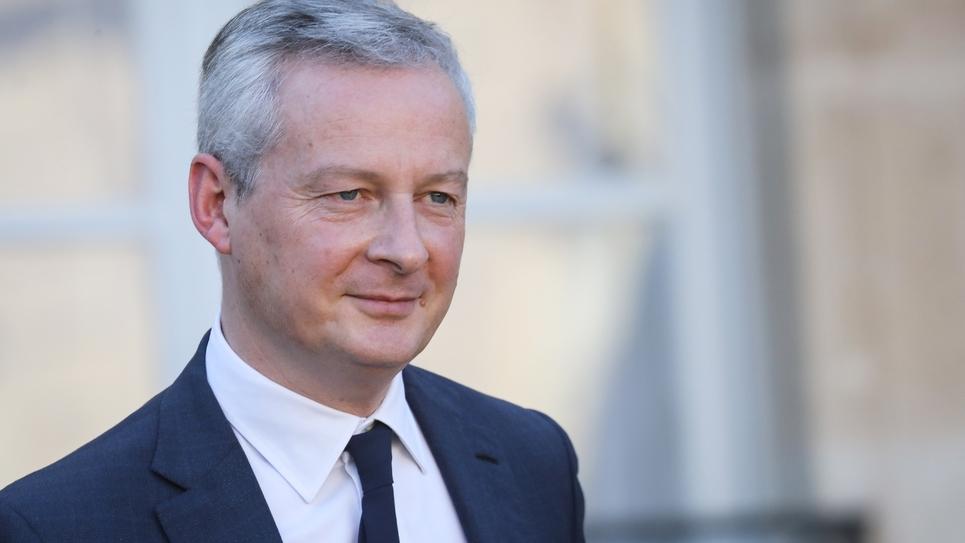 Bruno Le Maire à la sortie de l'Élysée le 14 novembre 2018