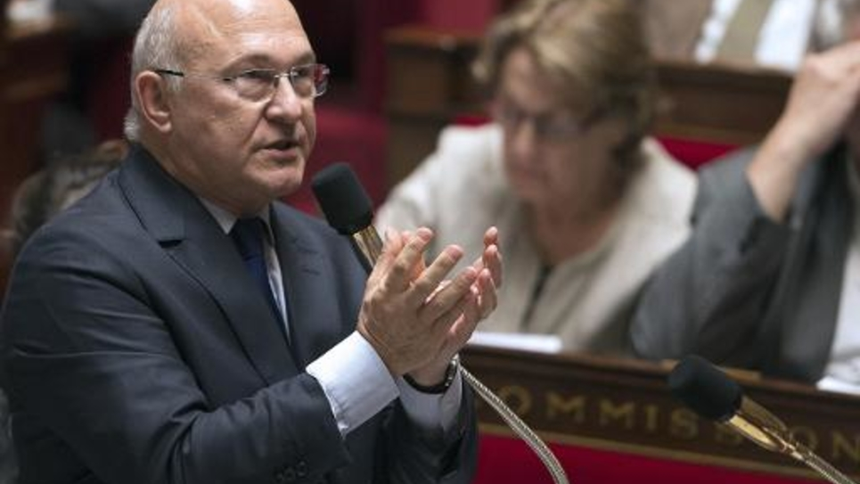 Michel Sapin le 20 mai 2014 à l'Assemblée nationale à Paris