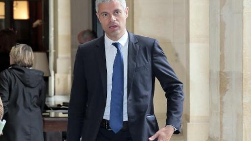 Le député UMP Laurent Wauquiez à l'Assemblée nationale, le 29 avril 2014