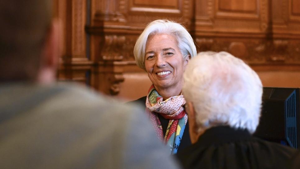 L'ex-ministre française de l'Economie Christine Lagarde, le 12 décembre 2016 à Paris