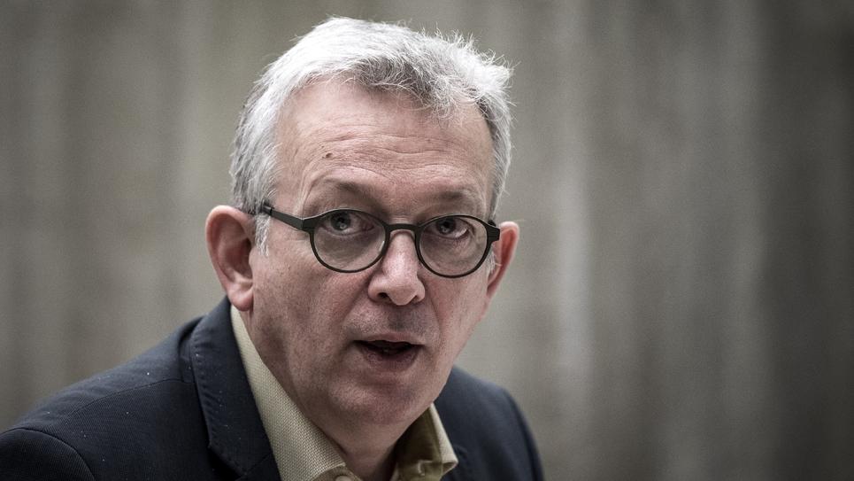 Le secrétaire national du PCF Pierre Laurent à Paris le 1er décembre 2016
