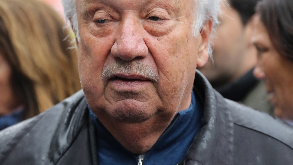 Le forain Marcel Campion, le 30 avril 2018 à Paris