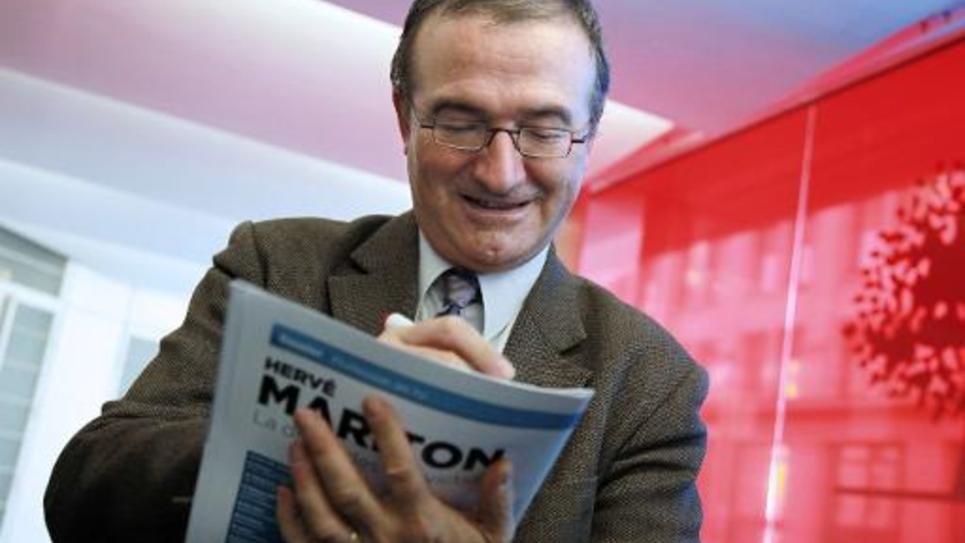 Hervé Mariton, député UMP, le 29 novembre 2014 à Paris