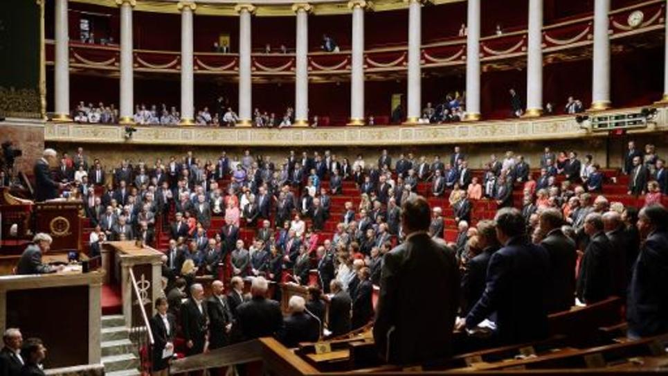 Les députés à l'Assemblée nationale, le 1er octobre 2014