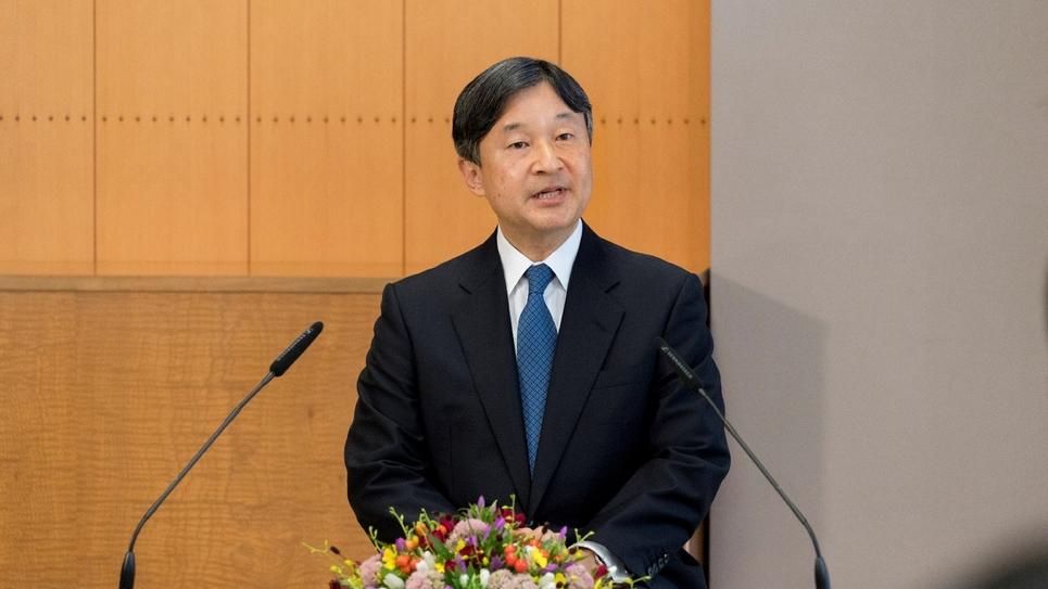 Le prince héritier du Japon, Naruhito, le 5 septembre 2018, au palais du Togu, à Tokyo. (photo fournie par l'Imperial Household Agency)