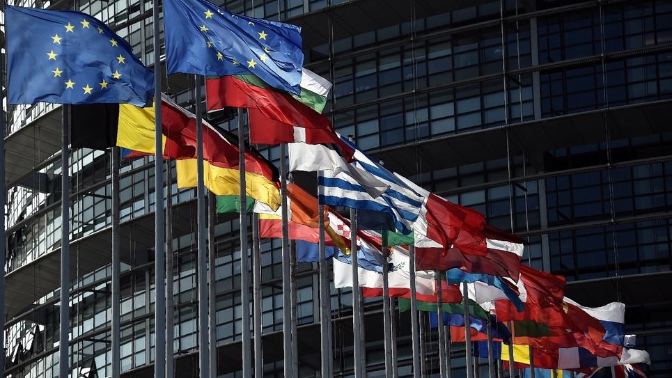 Le Parlement européen à strasbourg, le 9 juin 2016