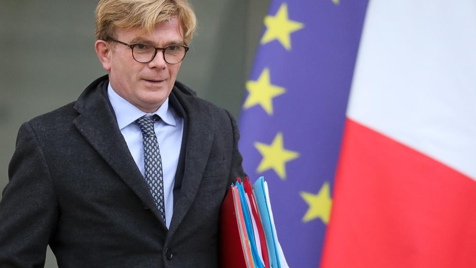 Marc Fesneau quitte l'Elysée le 26 novembre 2018