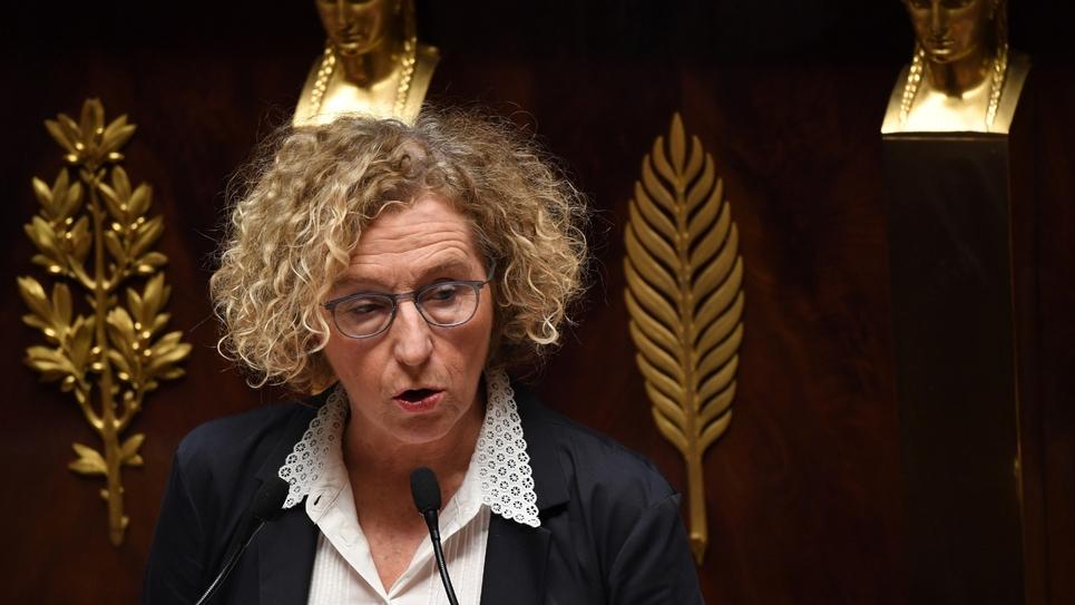 La ministre du Travail Muriel Pénicaud à l'Assemblée nationale le 20 décembre 2018