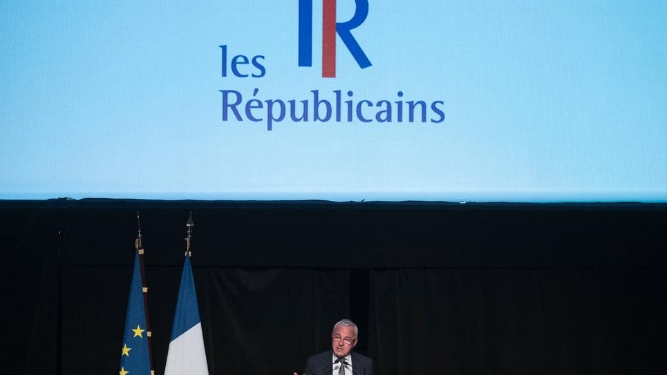 Le président par intérim du parti Les Républicains (LR), Jean Leonetti, à Belfort, le 19 septembre 2019