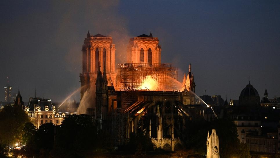 L'incendie de Notre-Dame de Paris, le 15 avril 2019